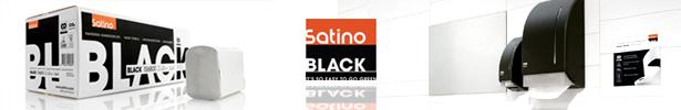 Logo Satino Black
